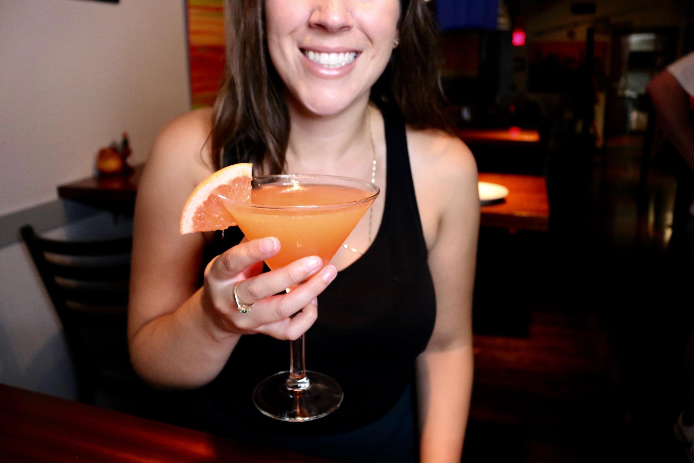 tar bar cocktail fun